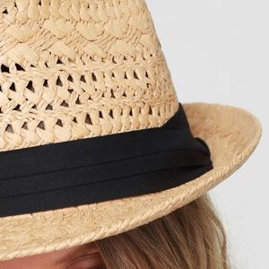 Angelique's Atelier Accessories - Classic Fedora with Black Ribbon